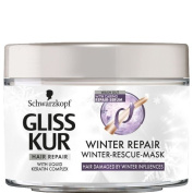 Schwarzkopf Gliss Kur Winter Repair Hair Mask 200 ml / 6.8 oz