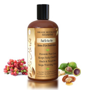 """Organic Shampoo Prevents Hair Loss, Restores Split Ends, Fights Premature Greying. With 18 Live Essential Nutrients """"Food For Your Hair"""""""