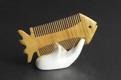 Warmter Natural Green Sandalwood Combs Top Quality Handmade Combs For Hair No Static