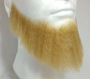 Full Character Beard BLONDE - 100% Human Hair - no. 2024 - REALISTIC! Perfect for Theatre and Stage - Reusable!