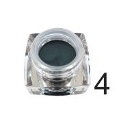 Shouhengda Eyeshadow Cream Waterproof Long Lasting Shimmer Glow Glitter Eyeshadow B4
