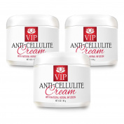 Cellulite removal - ANTI CELLULITE CREAM with Natural Herbal Infusion - Personal beauty care - 3 Jars