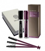 M2Beaute Mascara & Eyelash Activating Serum 5ml - 3 LOOKS BLACK NANO MASCARA with 5ml Eyelash growth Serum & M2Beaute Gift Box
