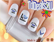 Military - Air Force MOM 5 - WaterSlide Nail Art Decals - Highest Quality! Made in USA