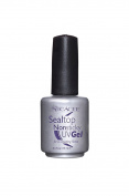 Seal Top Non-sticky Gel Topcoat for Artificial Nails, Finishing Sealer for Acrylic Nails, Builder Gel, Silk Wrap Nails, and Fibreglass Nails, Glass-like Shine, UV + LED by Cacee