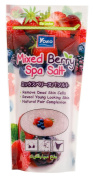 Mixed Berry Spa Salt, Shower Spa Bath Moisturising Body Wash, Removes Dead Skin Cells, Reveal Young Looking Skin, Natural Fair Complexion, 300g | BeautyBreeze