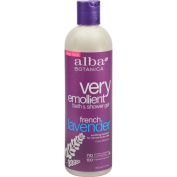 Alba Botanica Very Emollient Bath and Shower Gel French Lavender - 350ml