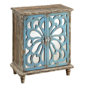 Treasure Trove Accents Accent Chest with 2 Functioning Doors, Devale Brown