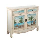 Treasure Trove Accents Console Cupboard, Key Largo Seaview