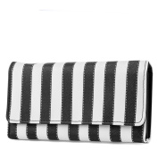 Mundi File Master Womens RFID Blocking Wallet Clutch Organiser With Change Pocket No Hardware