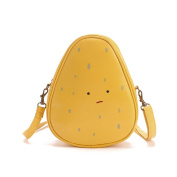 Flada Girl's Soft PU Leather Cross-body Bags Cut Shoulder Bags for Kids
