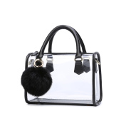 Lam Gallery Womens Clear Purse Transparent Satchel Bags PVC Plastic Handbags