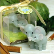 Luckly Elephant candle mould elephant family silicone mould soap,sugar craft tools,chocolate moulds,bakeware animal mould