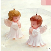 2pcsBaby angel silicone mould soap ,baby birthday party fondant moulds,baby candle moulds,cake decoration mould ,chocolate moulds