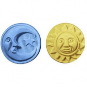 Sun & Moon Guest Soap Mould. Melt & Pour with Copyrighted Instructions