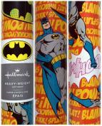 Hallmark DC Comics Batman Heavy Duty Gift Wrapping Paper 2.1sqm Roll