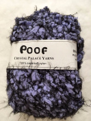"Crystal Palace Yarns Poof #4650 ""Periwinkle"" Puff Eyelash Yarn 50 Gramme"