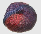 Knitting Fever Painted Sky Yarn 228 Appletini Superwash Wool Self Striping