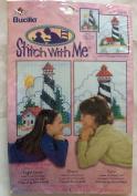 Bucilla Cross Stitch Kit Stitch With Me - Lighthouse #43145