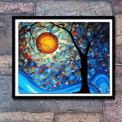 Cross stitch, Van Gogh, the world tree, come true, C0009