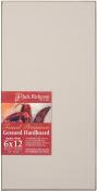 Jack Richeson 1710612 Richeson Umber Wash Toned Gessoed 0.3cm Hardboard 15cm x 30cm