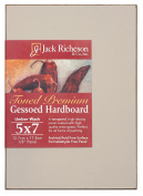 Jack Richeson 1710507 Richeson Umber Wash Toned Gessoed 0.3cm Hardboard 13cm x 18cm