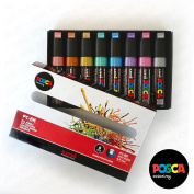 POSCA PC-8K Art Marker - PC-8K Metallic Set of 8 - In Gift Box
