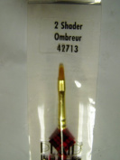 Plaid Paint Brushes Essentials Gold Nylon 2 shader 52713