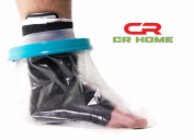 Waterproof Cast Protector - Keep Bandages & Casts Dry in the Shower, Pool, & Ocean - Fully Submersible - Keep Sand Away From Wounds