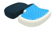2017 bonmedico® Orthopaedic Seat Cushion, Pain Reducing Pillow, Recommended Up To 80kg Weight In Blue