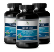 Nerve health - VALERIAN ROOT EXTRACT 125 MG - Valerian nature made - 3 Bottle 300 Capsules