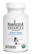 Nova Scotia Organics Winter's Friend {60 Caplets} - Organic Herbal Supplement - Made with USDA Certified Organic Acerola Berry, Echinacea and Zinc
