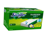 Swiffer Sweeper Wet Mopping Cloths Refills, 48 count