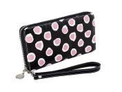 Sydney Love Dots Print Wristlet Wallet, Pink Dot