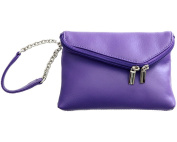 ili Leather 6526 Wristlet Handbag