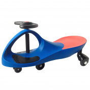 Arshiner Kids Swing Wiggle Car Ride On 5 Wheel Scooter Car Indoor / Outdoor Childrens Ride On Car Blue