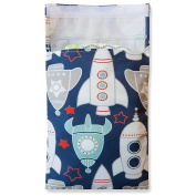 Tiny Tote Along Nappy Bag - Baby Boy Rockets