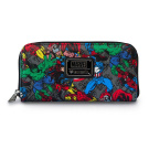 Marvel Characters All Over Wallet
