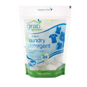 Grab Green 3-in-1 Laundry Detergent - Fragrance Free 24 pods