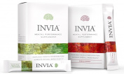 INVIA Mental Performance Drink Mix, Mixed Berry and Tea Lemonade