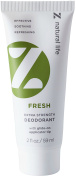 Z Natural Life Extra Strength Deodorant - Fresh Scent - NEW! Stick Like Applicator Tip