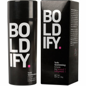 BOLDIFY Hair Fibres - Completely Conceals Hair Loss in 15 Seconds - 100% Undetectable All Natural Keratin Fibres - Brand! Giant 25ml Bottle - Instantly Thicken Thin Hair