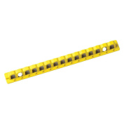 Breaker Lockout, Rail, 20cm , 15 Holes,