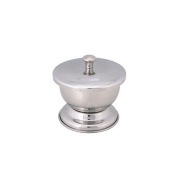 Harry D Koenig Shave Soap Bowl, Silver
