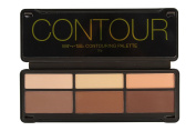 BYS Contour Palette (3x Contouring Powder, 3x Highlighting Powder) 20g20ml