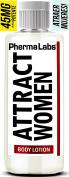 PhermaLabs Feromonas Creama Corporal Para Hombres- 180ml- Atraer Mujeres instantáneamente- Mayor Concentración De Feromonas Posible- Aumenta El libido- y Aroma fresco de larga duración 45mg