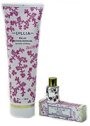 Lollia Relax Perfumed Shower Gel with Petite Handcreme with Little Luxe Eau de Parfum