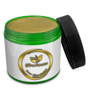 GlowAmaze Pure African Shea Butter - Natural & Organic Hair, Nails & Skin Care Body Butter - Moisturises & Protects The Skin - Powerful Revitalising & Soothing Effect 470ml / 0.5kg