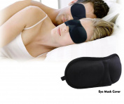 3D Eye Mask Shade Cover Rest Sleep Eyepatch Blindfold Shield Travel Sleeping Aid