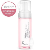 [9wishes] PH5.5 Balance Wash 150ml For All Skin Type / Fresh Foaming Cleanser